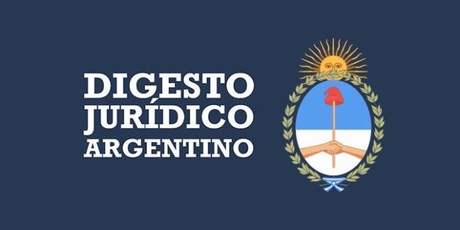 Digesto Jurídico Argentino