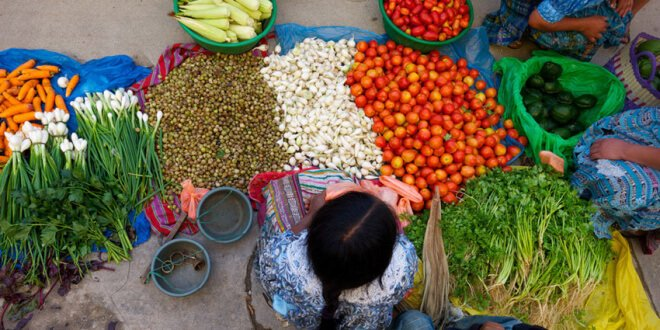 Mercado en Guatemala. Foto: FIDA /Santiago Albert Pons