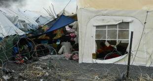 La UNMISS protege a civiles desplazados por el recrudecimiento de la violencia en el estado del Alto Nilo, en Sudán del Sur. Foto: UNMISS