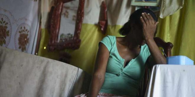 Esta mujer nació en Haití pero sus ocho hijos en la República Dominicana. Decenas de miles de personas nacidas en el país de ascendencia haitiana podrían ser deportadas. Foto: ACNUR/B. Sokol