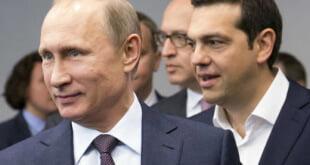 El presidente ruso Vladímir Putin se reunió con Alexis Tsipras en San Petersburgo (AP)