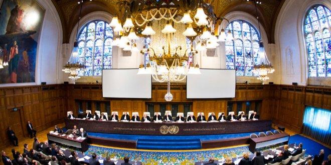 Corte Internacional de Justicia. Foto: CIJ/Frank van Beek
