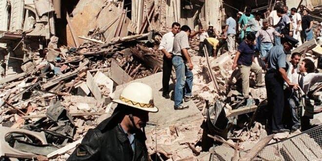 Argentina busca a los autores del atentado contra la embajada israelí en 1992