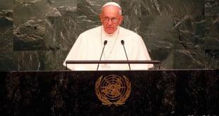 Histórico discurso del papa ante la Asamblea General de la ONU