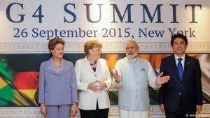 El G-4 pide reformar el Consejo de Seguridad