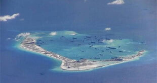 China construye una pista de aterrizaje en las disputadas islas Spratly / Reuters