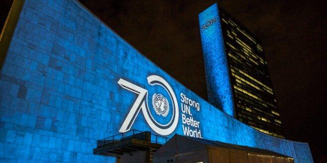 Edificio de la Asamblea General de la ONU. Foto: ONU/Cia Pak