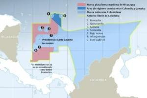 Mapa extraído de nota de prensa de El Espectador (Colombia), edición del 19/11/2012