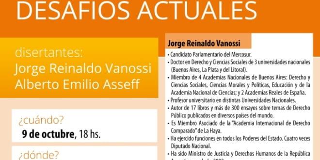 """Conferencia: """"Mercosur y Parlasur. Desafíos Actuales"""""""