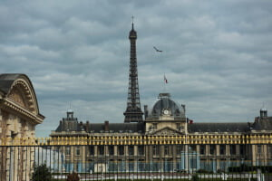Vista de París, Francia, desde el edificio de la UNESCO. Foto ONU/Mark Garten