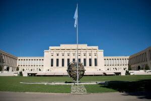 Las negociaciones de paz para Siria tienen lugar en la sede de la ONU en Ginebra. Foto: ONU-Jean-Marc Ferré