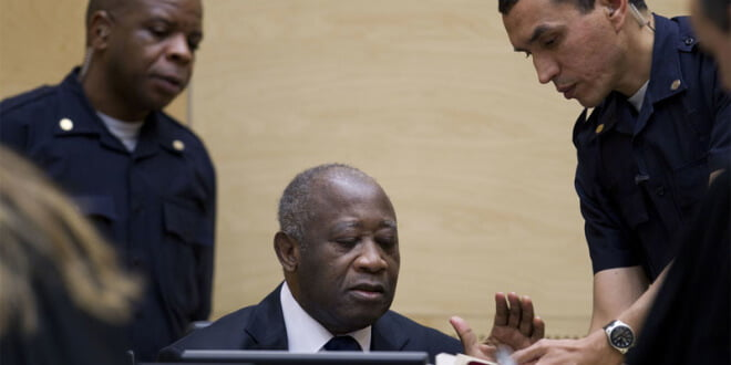 Laurent Gbagbo, ex presidente de Côte d´Ivoire, ante la CPI. Foto de archivo: CPI