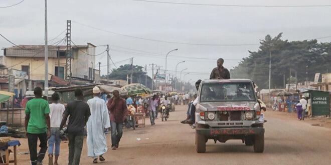Una calle de Bangui, capital de la República Centroafricana. Foto: MINUSCA
