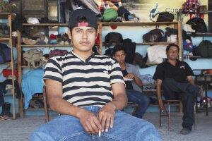 Migrante salvadoreño víctima de la violencia en su país. Foto de archivo: Amy Stillman/IRIN