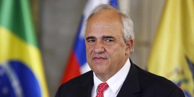 Secretario general de Unasur, Ernesto Samper, impulsa proyecto de 'ciudadanía suramericana'