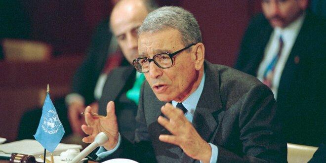 La Asamblea General de la ONU rindió tributo a Boutros Boutros-Ghali, Secretario General de Naciones Unidas de 1991 a 1996. Foto de archivo: /Milton Grant