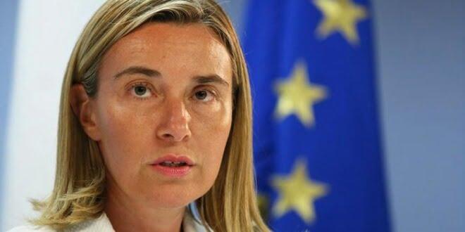 Alta Representante de las Relaciones Exteriores de la Unión Europea, Federica Mogherini