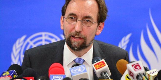 El Alto Comisionado de la ONU para los Derechos Humanos, Zeid Raad Al Hussein. Foto: ONU/Muradh Mohideen