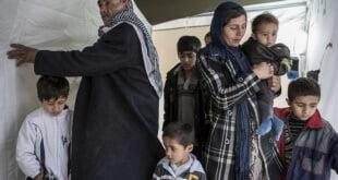 Familias de refugiados sirios en Turquía. Foto de archivo: ACNURR/I. Prickett