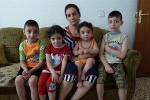 Familia cristiana desplazada por la violencia del ISIS en Iraq Foto: IRIN/Louise Redvers