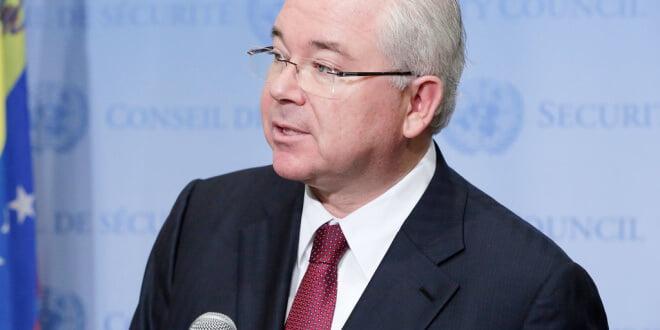 El Embajador de Venezuela ante la ONU, Rafael Ramírez. (Archivo) Foto: ONU/Evan Schneider.