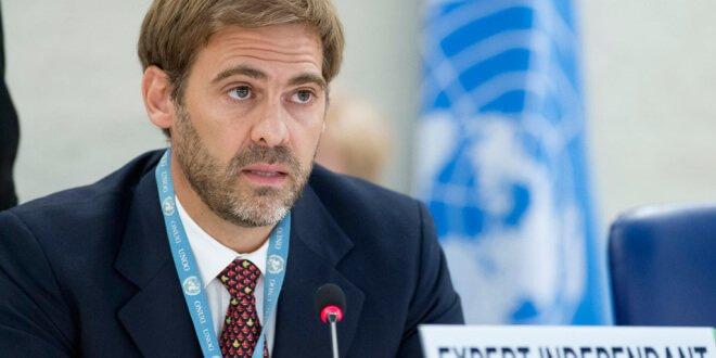 El experto independiente de la ONU sobre Deuda Externa y Derechos Humanos, Juan Pablo Bohoslavsky. Foto ONU/Jean-Marc Ferré