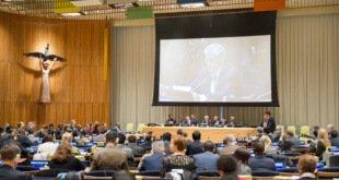 Los candidatos a Secretario General de la ONU se presentan ante la Asamblea General. Foto: ONU/Rick Bajornas
