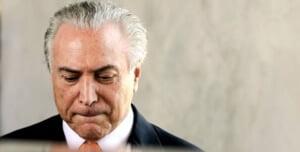 Michel Temer, quien asumió la presidencia de forma interina de la República Federativa del Brasil