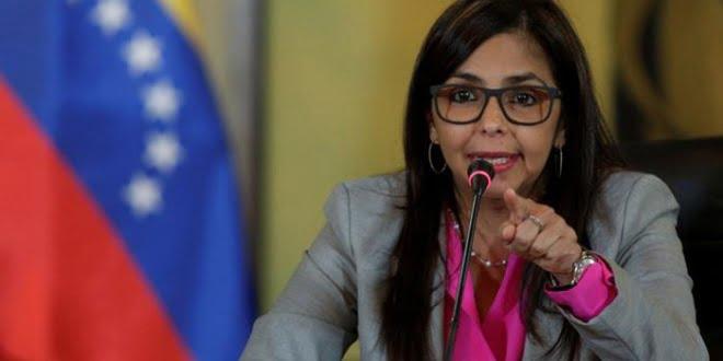 Ministra de Exteriores venezolana, Delcy Rodríguez
