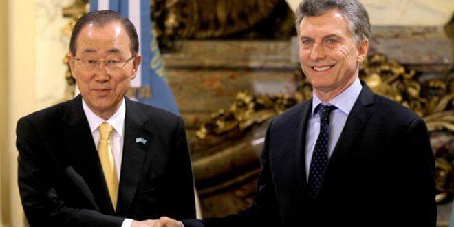 secretario general de Naciones Unidas, el surcoreano Ban Ki-moon