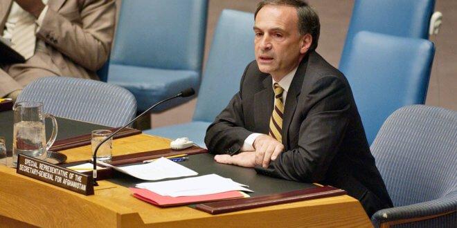 Jean Arnault, jefe de la misión de la ONU en Colombia. Foto de archivo: ONU/Ryan Brown