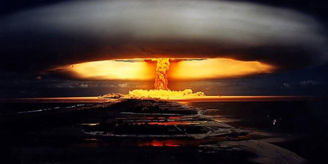Ensayo nuclear en la Polinesia Francesa en 1971. Foto: CTBTO
