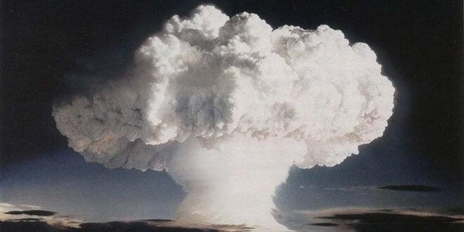 Una prueba nuclear llevada a cabo por EE.UU. en Enewetak, en las Islas Marshall, el 1 de noviembre de 1952. Foto: Gobierno de EE.UU.