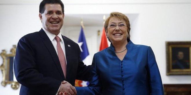 Chile ofrece a Paraguay acceso al Pacífico