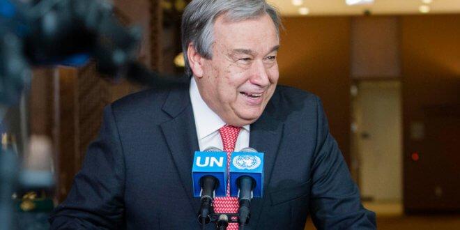António Guterres fue nombrado nuevo Secretario General de la ONU. Foto de archivo: ONU/Manuel Elias