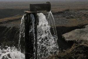 Infraestructura hídrica en el Valle de Fergana, en Uzbequistán. Foto Banco Mundial/Matuba Mukhamedova