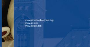 European Journal of International Law