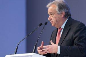 El Secretario General de Naciones Unidas, António Guterres. Foto de archivo: Boris Baldinger