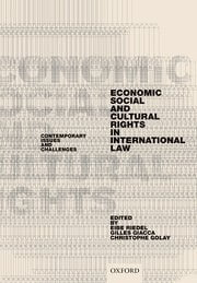 Economic, Social, and Cultural Rights in International Law - Edited by Eibe Riedel, Gilles Giacca, and Christophe Golay
