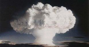 Ensayo nuclear realizado por Estados Unidos en Enewetak, un atolón de las Islas Marshall, el 1 de noviembre de 1952. Foto: Gobierno de EEUU