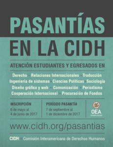Programa de Pasantías de la CIDH