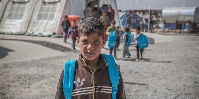 Iraq es uno de los países con mayor número de desplazados internos. Foto: OCHA/Ivan Abdulla