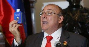 Diego Molero, embajador de Venezuela en Perú, en una imagen reciente.