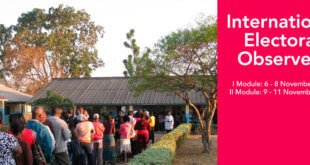 International Electoral Observers (IEO) - Training