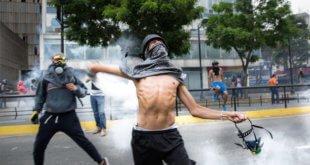 Protestas en Caracas, Venezuela. Foto: Helena Carpio / IRIN