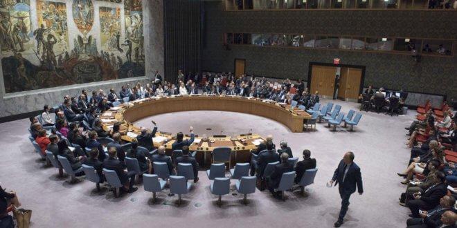 El Consejo de Seguridad durante la reunión en la que se aprobó la investigación en Iraq. Foto: ONU/Kim Haughton