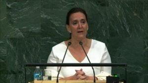 20 Sep 2017 - Intervención de Marta Gabriela Michetti Illia, Vice-Presidenta de la República Argentina, durante el debate general del 72° Periodo de Sesiones de la Asamblea General de las Naciones Unidas (Nueva York, 19 - 25 Septiembre 2017).