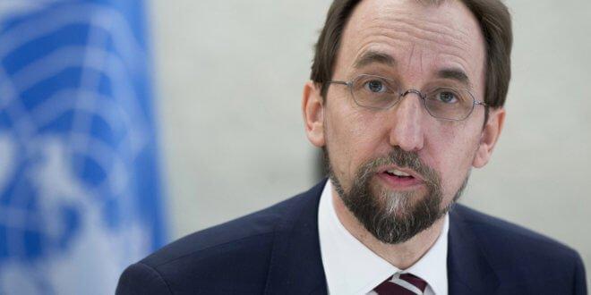 Zeid Ra´ad Al Hussein, Alto Comisionado de la ONU para los Derechos Humanos. Foto: ONU/Jean-Marc Ferré