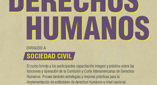 Curso sobre el Sistema Interamericano de Protección de Derechos Humanos