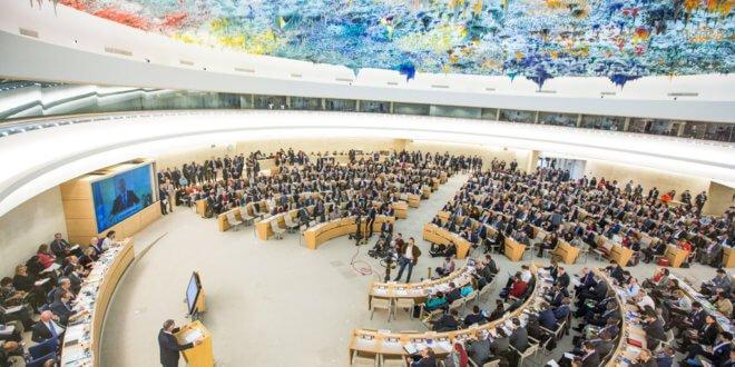 El Consejo de Derechos Humanos. Foto de archivo: ONU/Elma Okic